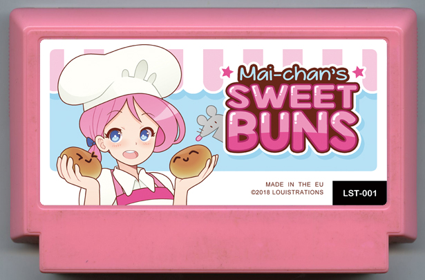 Game cartridge for 'Mai-chans sweet buns